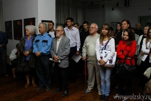 В Волжском открылась выставка Ольги Крайневой