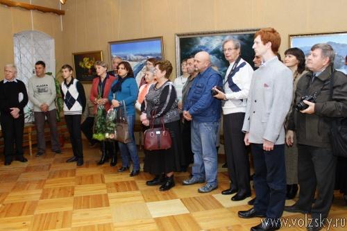 В Волжском открылась выставка памяти Махова