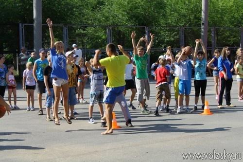 В Волжском отметили День физкультурника