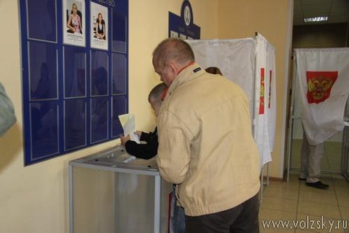 В Волжском продолжается голосование