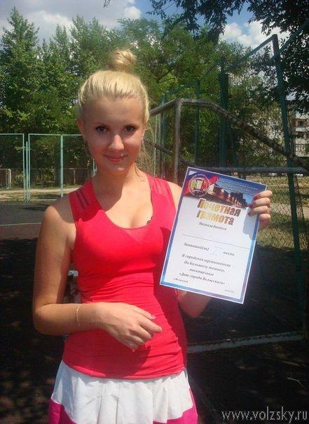 В Волжском прошел любительский турнир по большому теннису