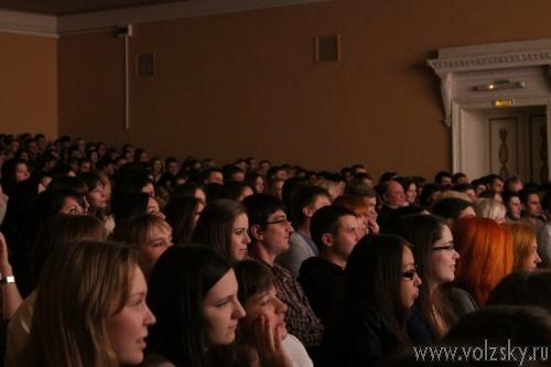 В Волжском прошла первая игра сезона КВН