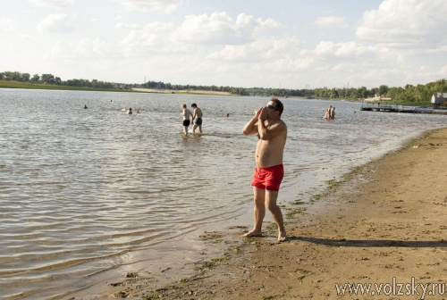 В Волжском прошли аква-старты
