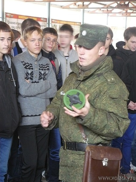 В Волжском прошёл день призывника