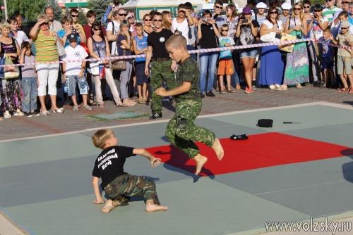 В Волжском прошёл фестиваль боевых искусств