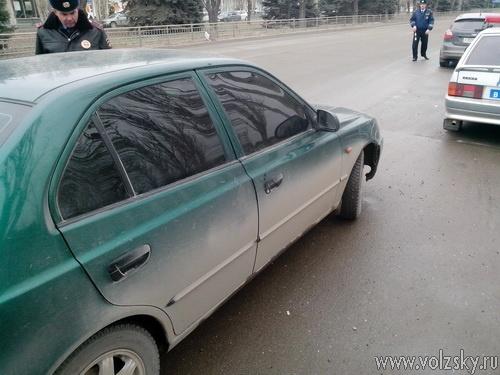 В Волжском прошёл рейд «Тонировка»
