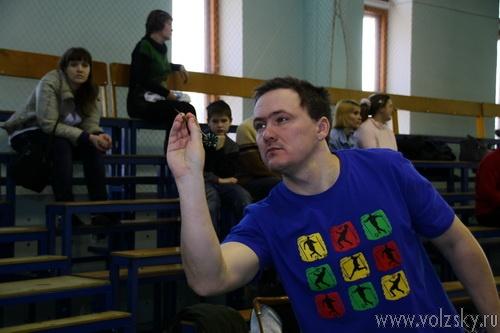 В Волжском состоялась спартакиада для инвалидов