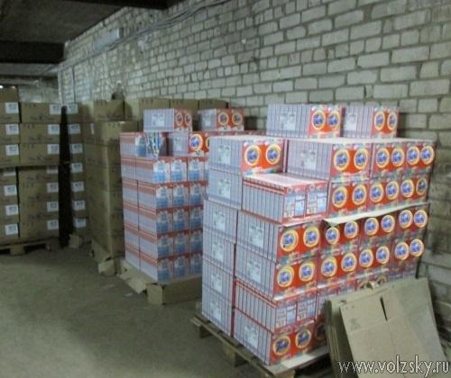 В Волжском закрыт цех по производству контрафактной бытовой химии