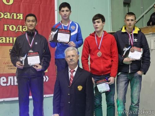 Волжане одержали блестящие победы на чемпионате Юга России по тхэквондо ВТФ в Таганроге