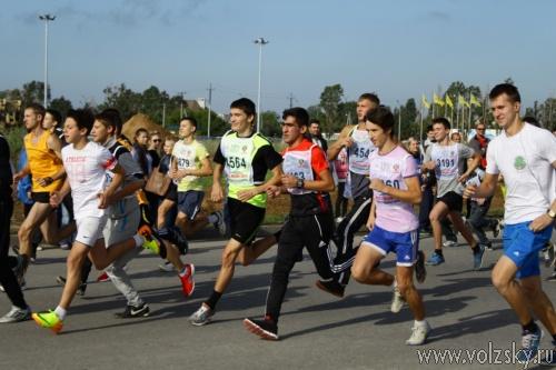 Волжане участвовали в «Кроссе нации-2013»