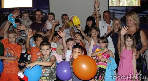 Волжские бизнесмены поздравляли сирот с Днем защиты детей