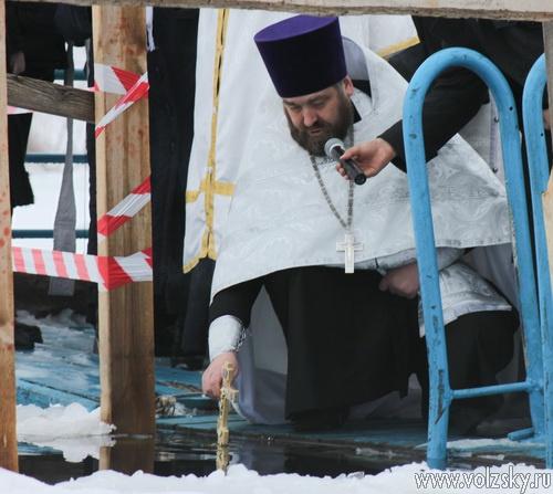 Волжский отметил Крещение