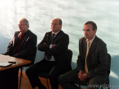 Воронин встретился с коллективом трампарка