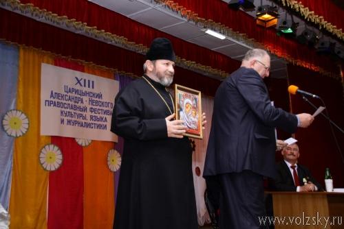 Журналиста <b>Волжский.ру</b> наградили медалью и знаком