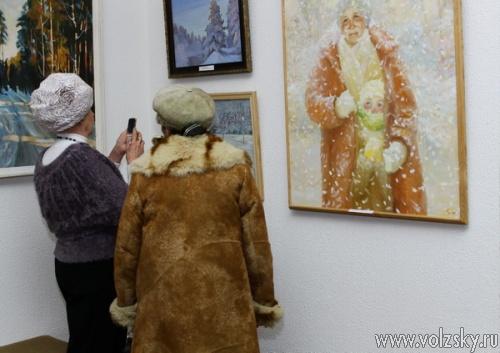 Зима глазами художников