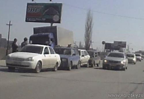 5 машин столкнулись на проспекте Ленина