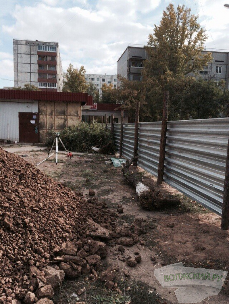арвароИз-за очередной точечной застройки в Волжском погибли деревья аппорв