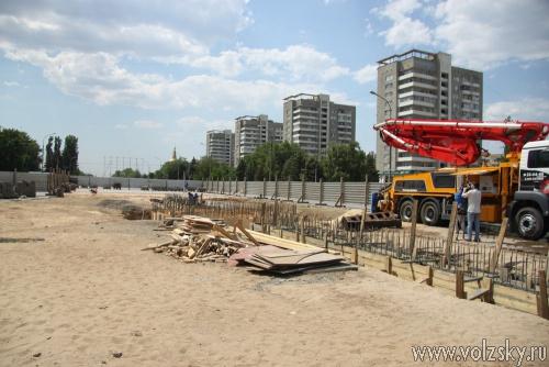 Фонтан на площади Ленина запустят в июле