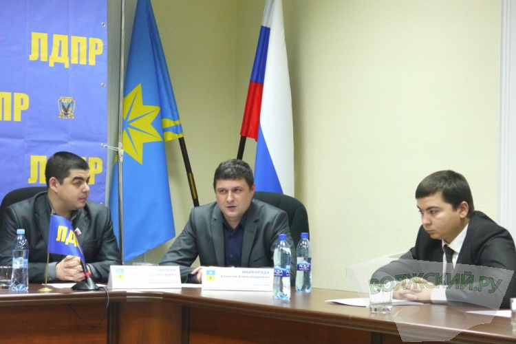 Фракция ЛДПР отметила 25-летие партии пресс-конференцией в гордуме