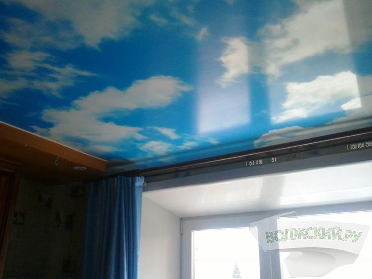 Где заказать натяжные потолки в Волжском?