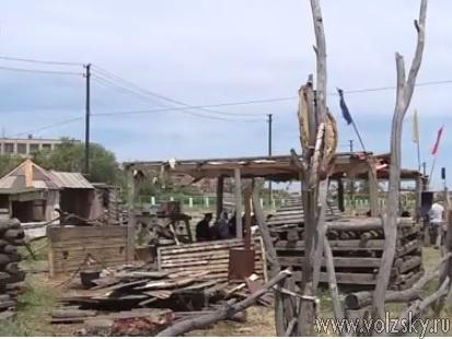 Калачевская епархия организовала в Волжском велопробег и казачий лагерь