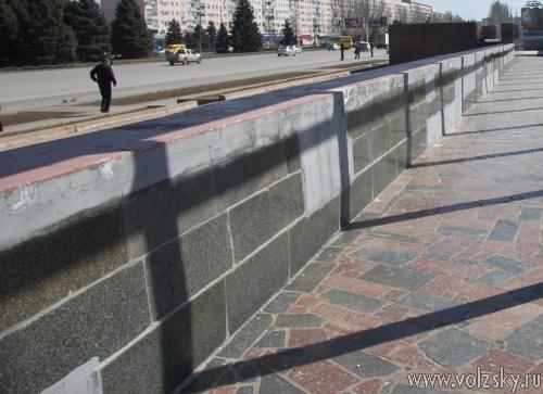 Ко дню города отремонтирую лестницу на Набережной и трибуну на площади Ленина