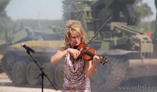 На Зеленом были проведены всероссийские военные соревнования