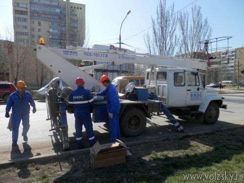 Пешеходные переходы Волжского станут безопаснее