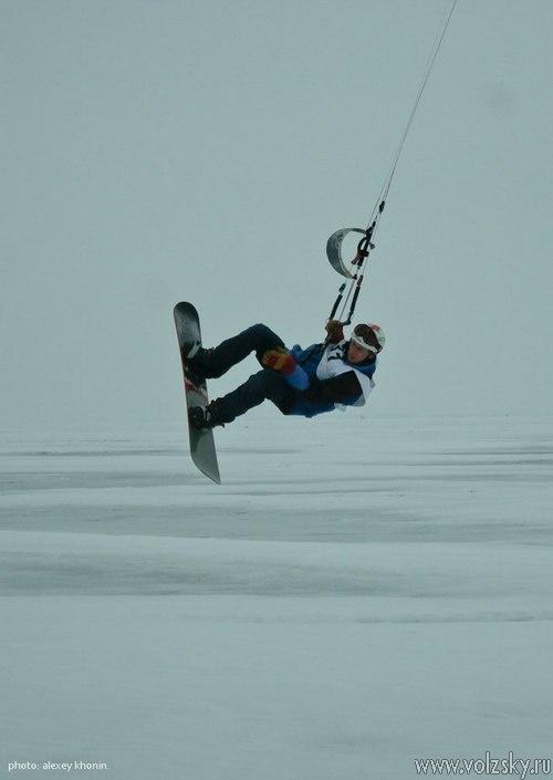 Подведены итоги Всероссийского чемпионата по сноукайтингу «VolgaGamesSnow 2014»