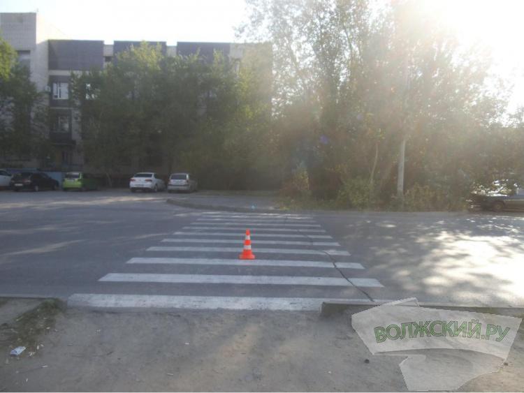 Сбитый пешеход обратился в больницу