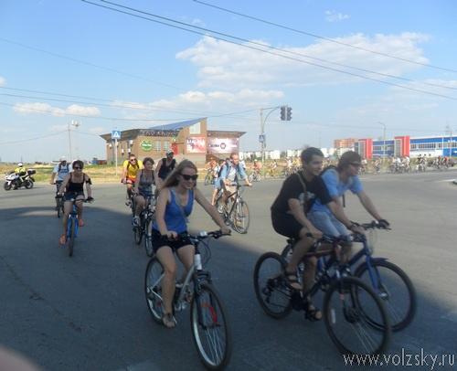 Проезжая часть для велосипедистов, или «ВелоБульвар» по-волжски