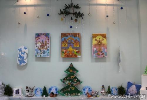 «Русинка» приглашает волжан на выставку детского рисунка и декоративно-прикладного творчества «Русь православная»