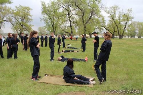 Школьники полицейских классов приняли участие в полевом выезде