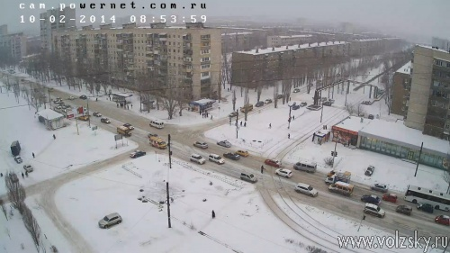 Снегопад доставил неудобства автомобилистам