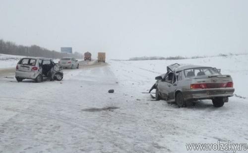 В ДТП в Михайловском районе области погибли 5 человек
