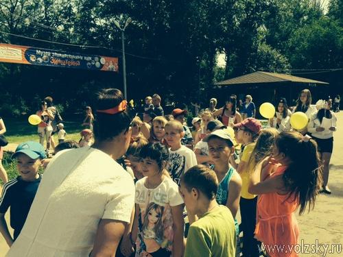 В парке провели акцию «Безопасное лето»