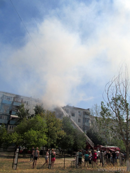 В Волжском горело 4 квартиры