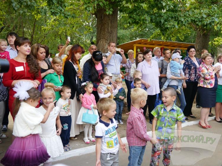 В Волжском открылся новый детский сад