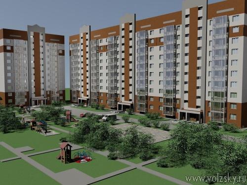 В Волжском появятся новые дома для счастливой жизни
