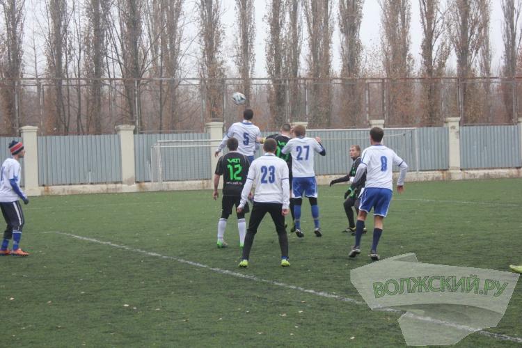 В Волжском прошел полуфинал Кубка Федерации футбола города