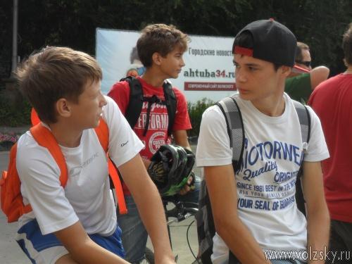 В Волжском прошла игра «Бегущий город»