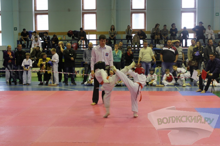 В Волжском прошли детские соревнования по карате киокусинкай