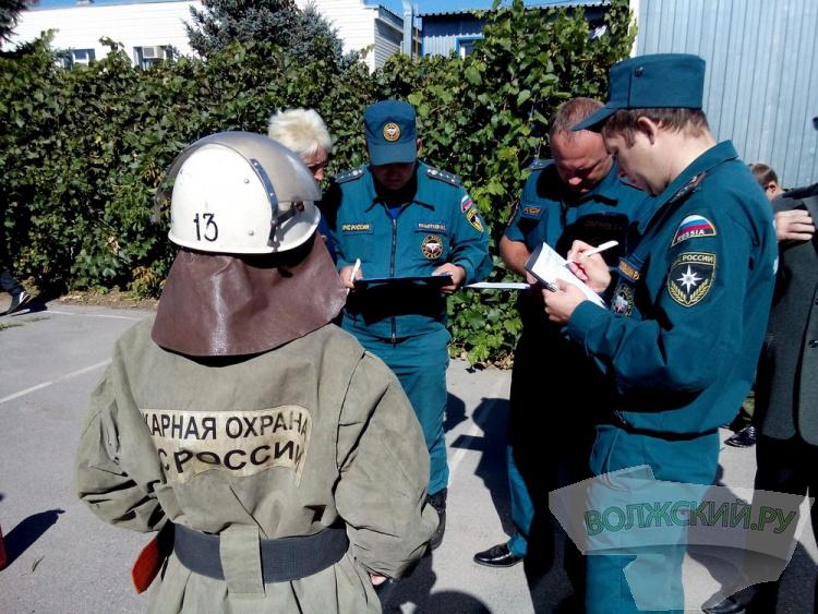 В Волжском прошли соревнования дружин юных пожарных