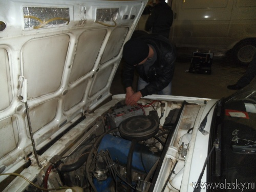 В Волжском проведён рейд по выявлению использования ксенона в автомобилях