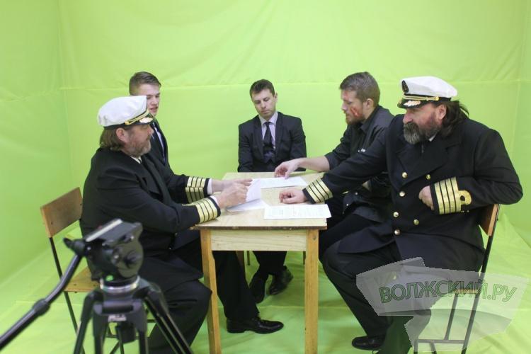 В Волжском снимают новый «Титаник»