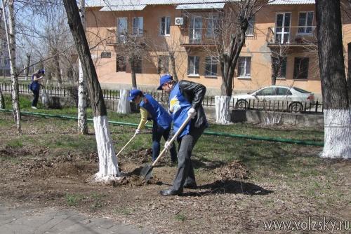 В Волжском стартовала акция «Красивый город своими руками»