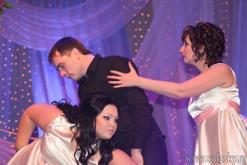 В Волжском выбрали лучшую свадебную пару