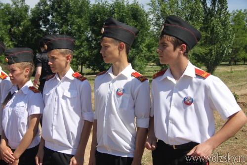В Волжском заложили аллею «Спецназа России»