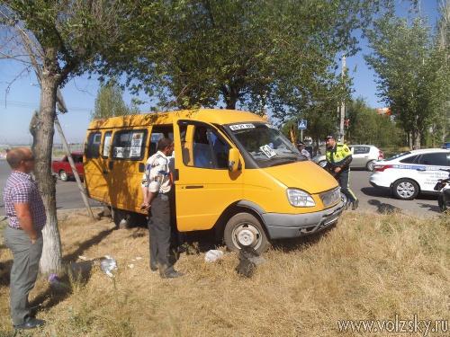 Водитель волжской «маршрутки» скончался прямо за рулём