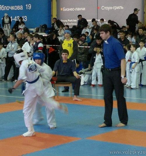Волжане одержали победу на Открытом турнире по каратэ киокушинкай